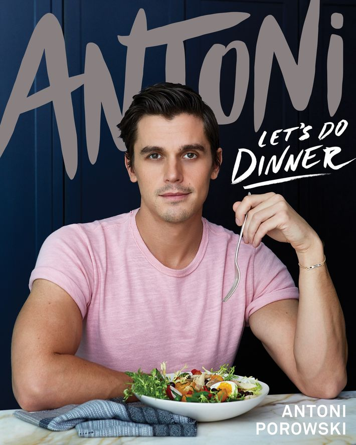 Antoni's new cookbook, Let's Do Dinner, is published 16 September (£22, Bluebird).