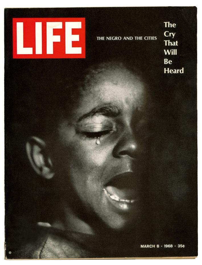 """With his series, """"A Harlem Family,"""" which appeared in Life in March 1968, Parks answered the ..."""
