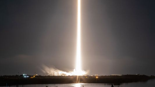 SpaceX launch kicks off regular commercial flights into orbit