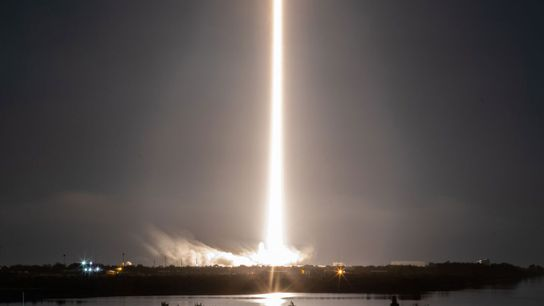 SpaceX Crew-1 lets off from Cape Canaveral