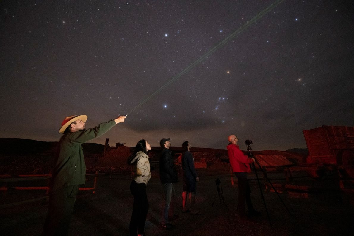 Stargazers flock to Death Valley during the park's Dark Sky Festival, where rangers, scientists, and amateur ...