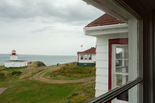 Since the lighthouse at Cape d'Or now runs automatically - like every other lighthouse - the ...