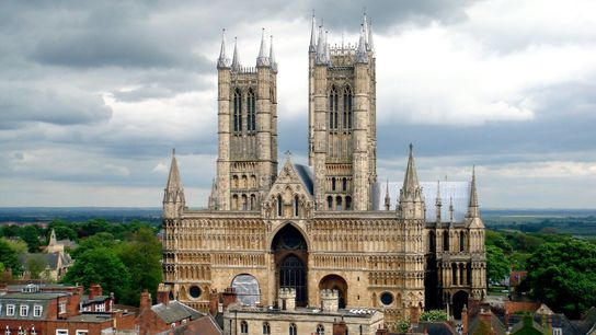 Walking up the Cathedral Steps is a bit of steep climb to reach the magnificent building ...