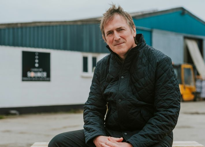 Patrick Gee is a producer at Llanllyr SOURCE, which has been carbon neutral since 2006.