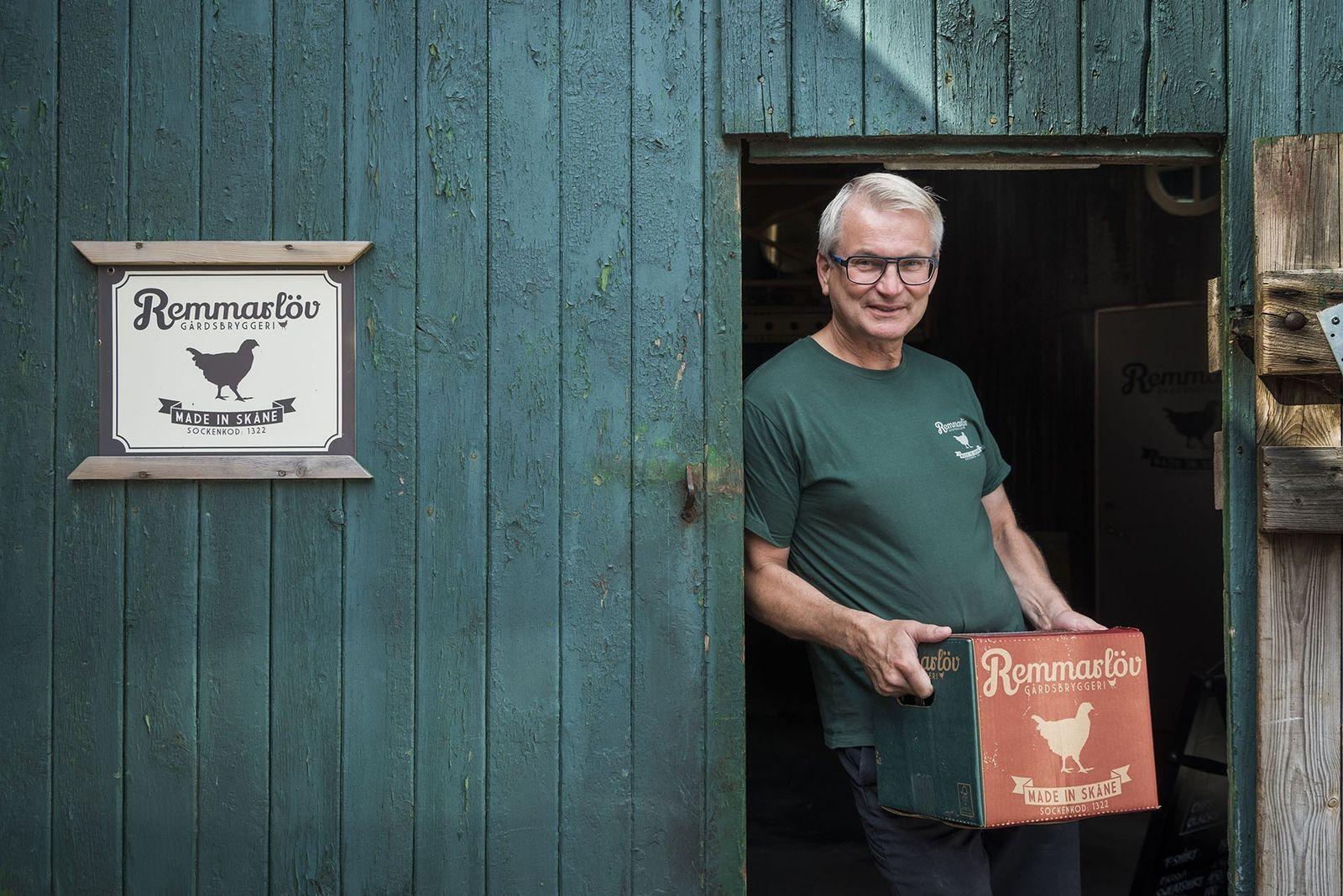 Håkan Nillson, beer brewer