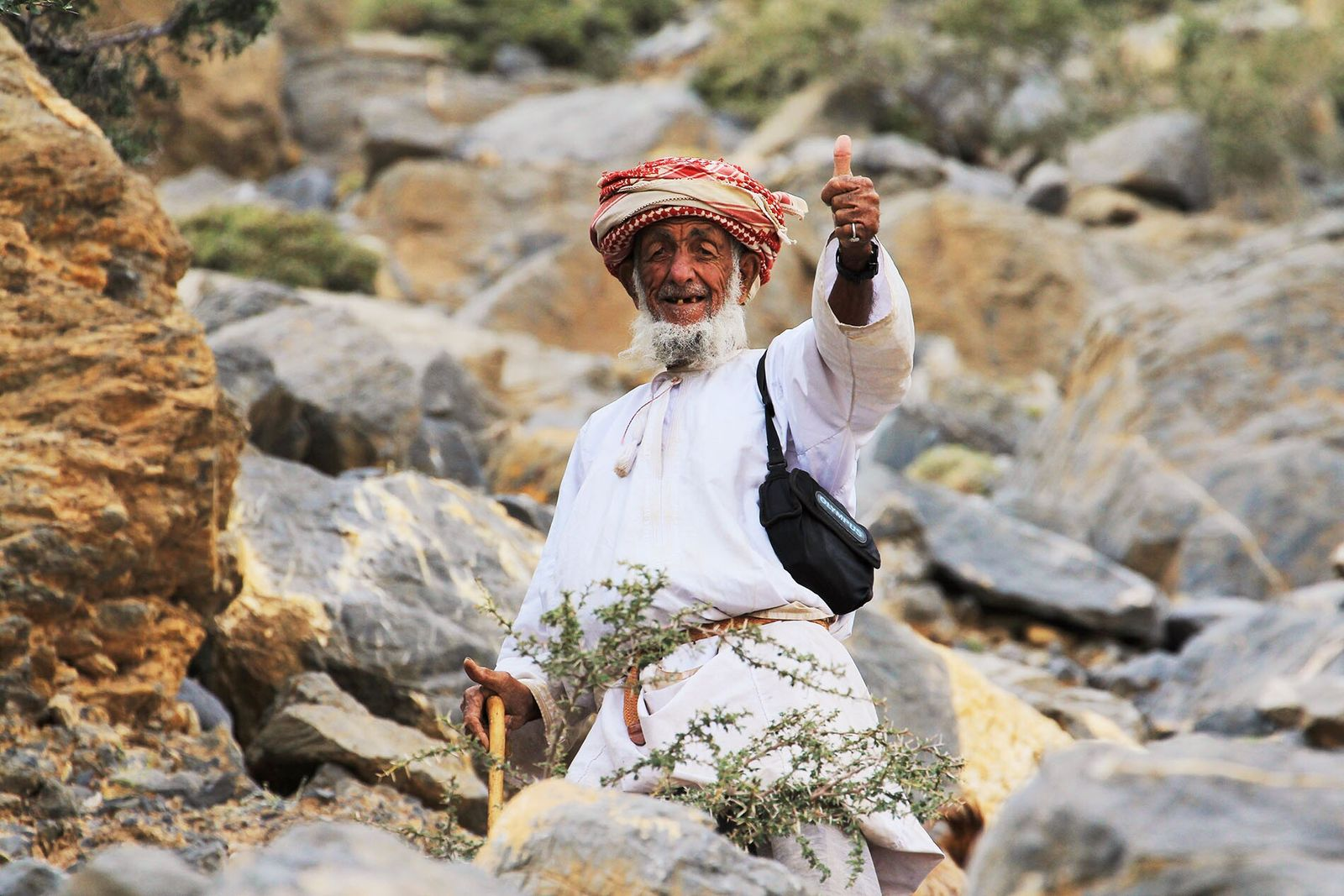 Omanis are known for their calm, respectful natures, and for their positive outlook on life.