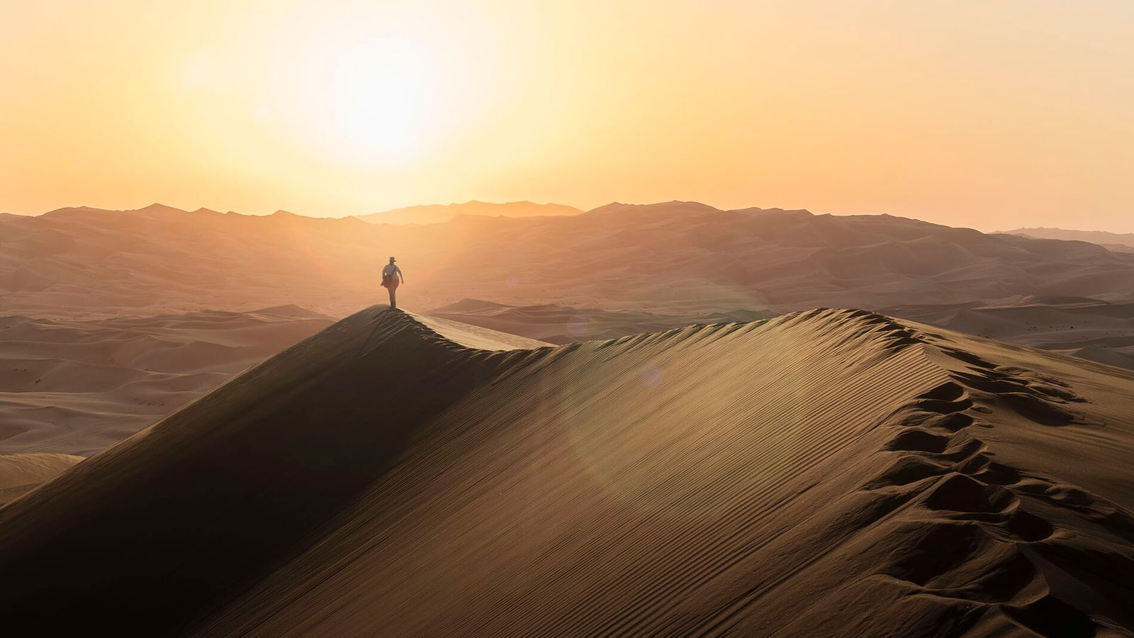 The Omani section of the Empty Quarter is not just hypnotic, but huge too.