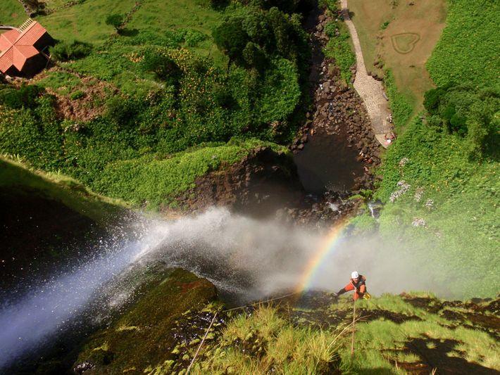 São Miguel, São Jorge and Flores islands have the best canyoning options.