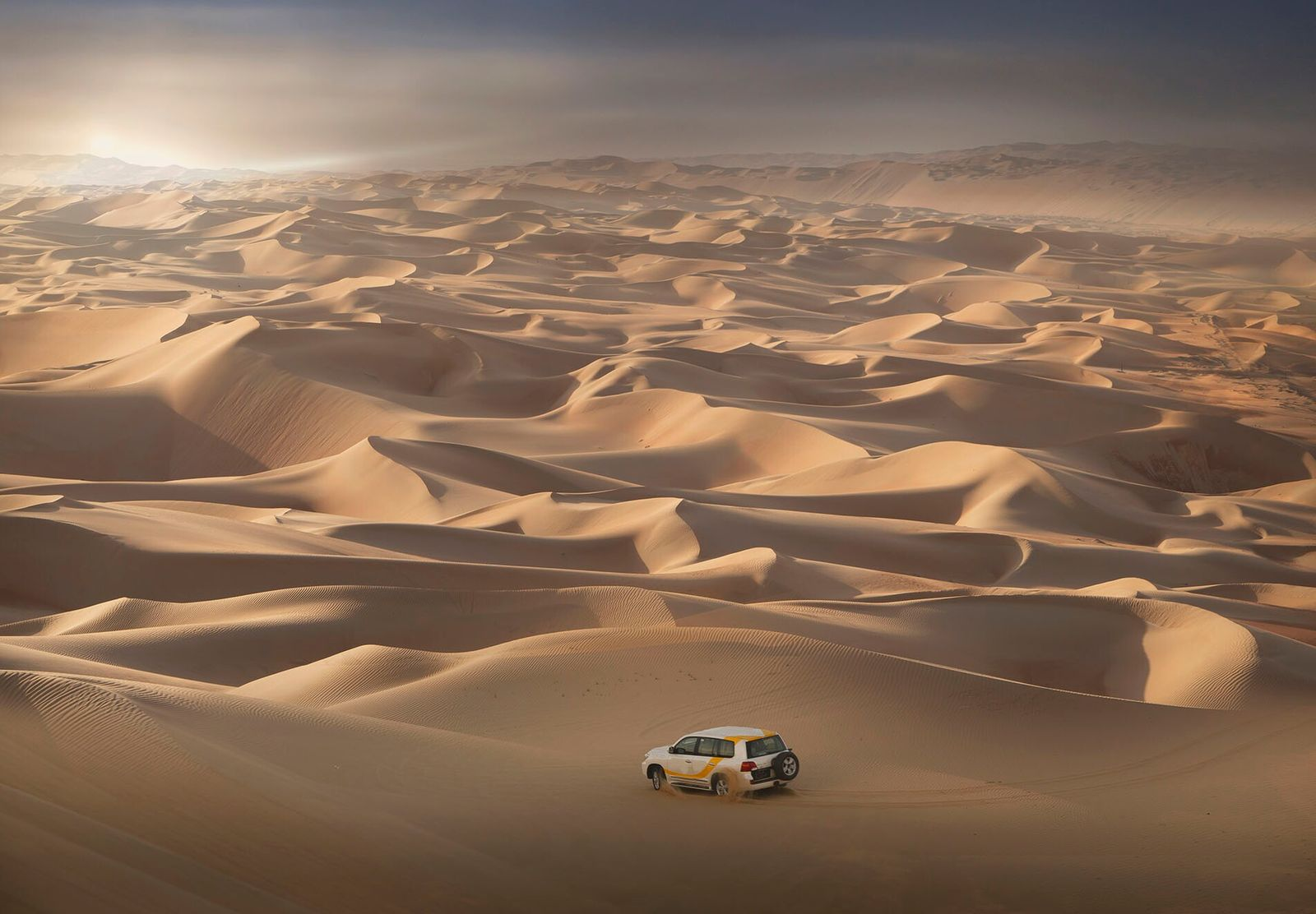 Oman is home to the highest sand dune in the world, the Ramlat Jadilah, which measures a staggering 1,492ft.