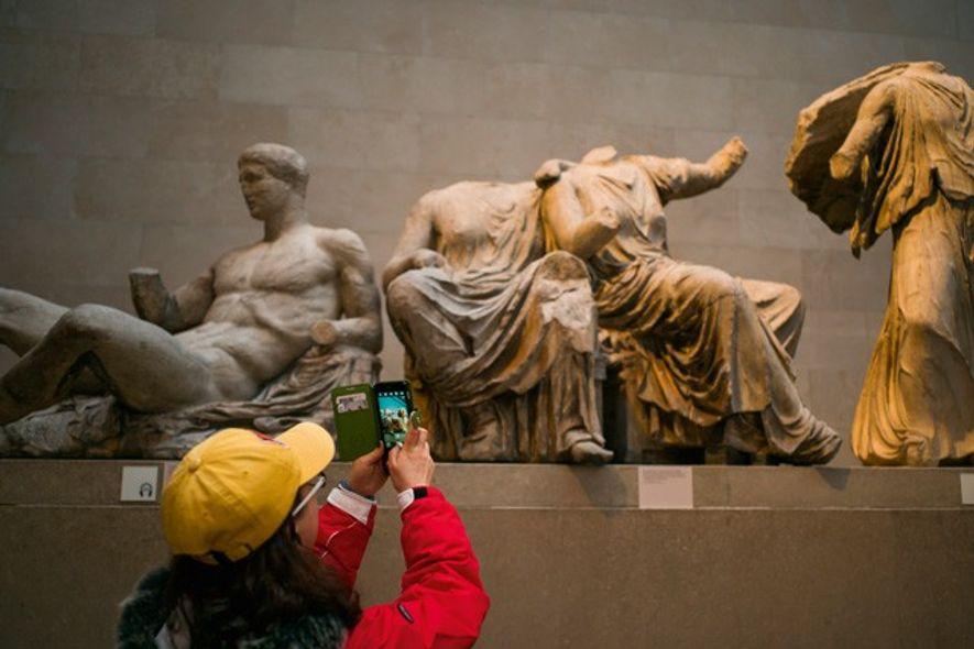 Parthenon sculptures, British Museum. Image: AWL Images