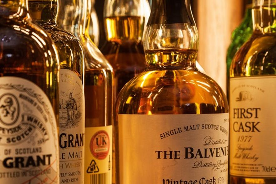 Spirits, Scarfes Bar, Rosewood London. Image: Durston Saylor