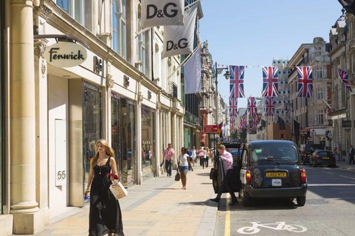 Shopping, New Bond Street
