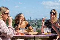 The Terrace Bar at Alexandra Palace, now open for the summer season. New drinks venues have opened across ...