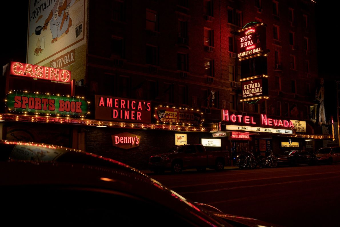 Hotel Nevada is a six-story casino and hotel from 1929 located in Ely, Nevada. It was ...