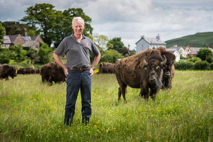 Lord Newborough has been a farmer at Rhug Organic Farm in Denbighshire since 1998.