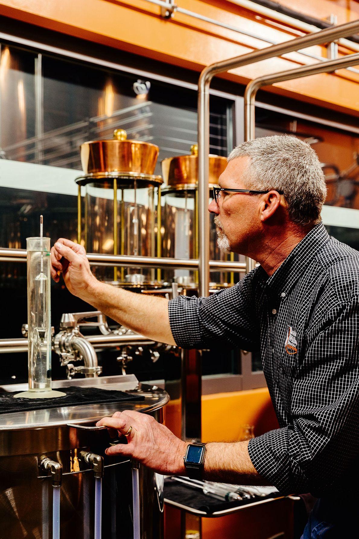 Joe Heron, Copper and Kings Distillery