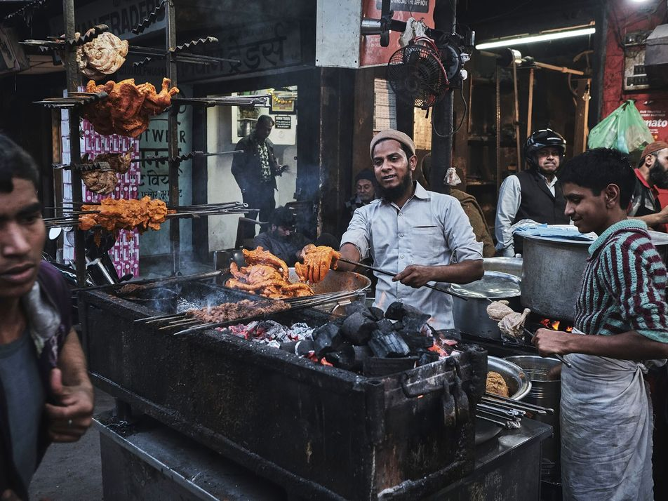 Explore the Indian city of Lucknow, whose streets are alive with smoke and flame