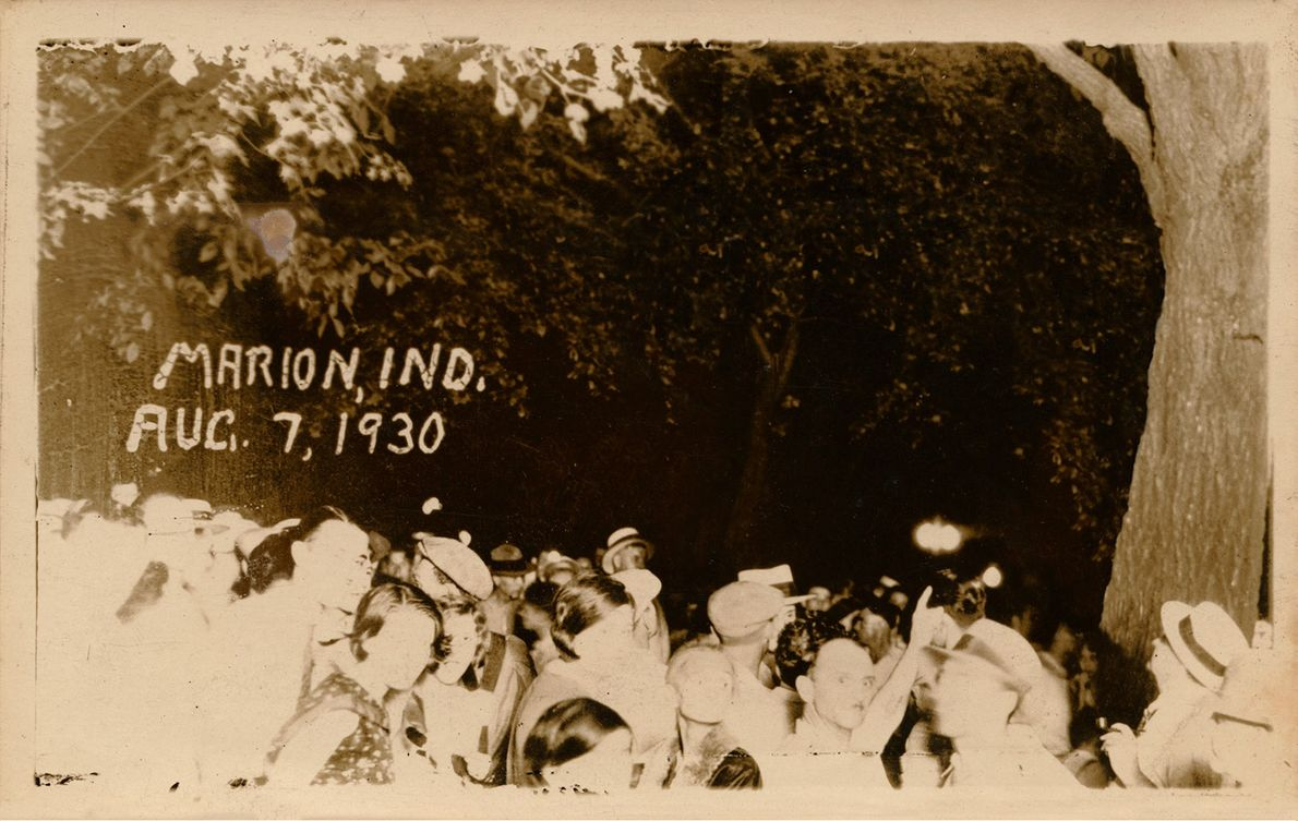 Lynching of Thomas Shipp and Abraham S. Smith, Marion, IN. 1930  Artist Ken Gonzales-Day has been widely ...