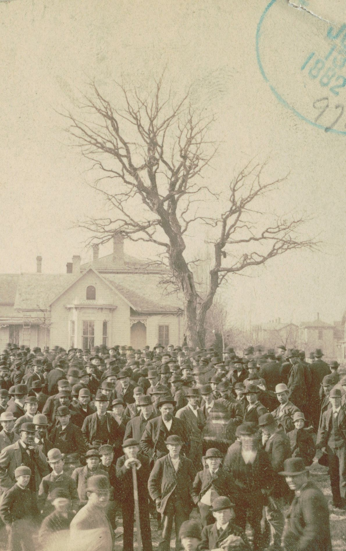 """Lynching of Frank MacManus, Minneapolis, MN., 1882  Artist Ken Gonzales-Day has been widely recognized for the """"Erased ..."""