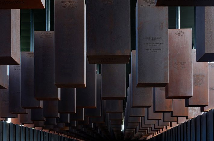 The National Memorial for Peace and Justice, which opened on April 26, 2018, is dedicated to ...