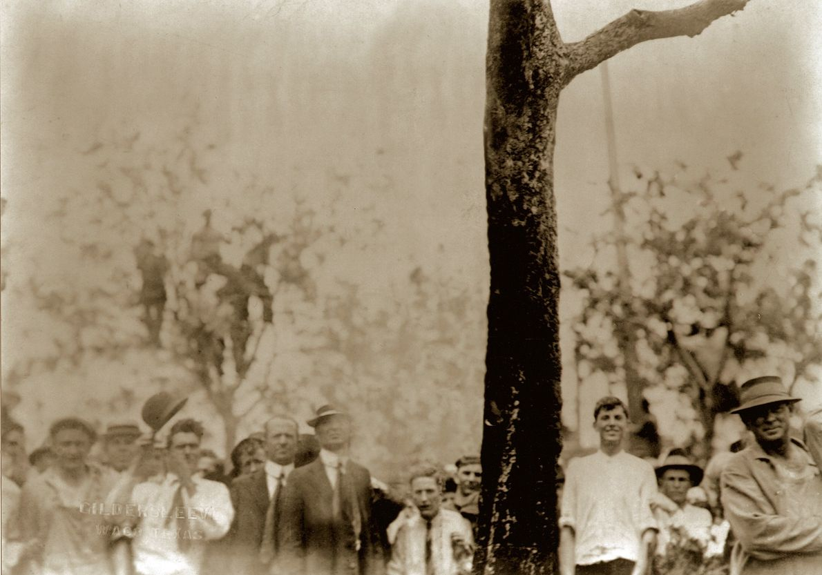 """Lynching of Jesse Washington, Wako, TX., 1916.  Artist Ken Gonzales-Day has been widely recognized for the """"Erased ..."""