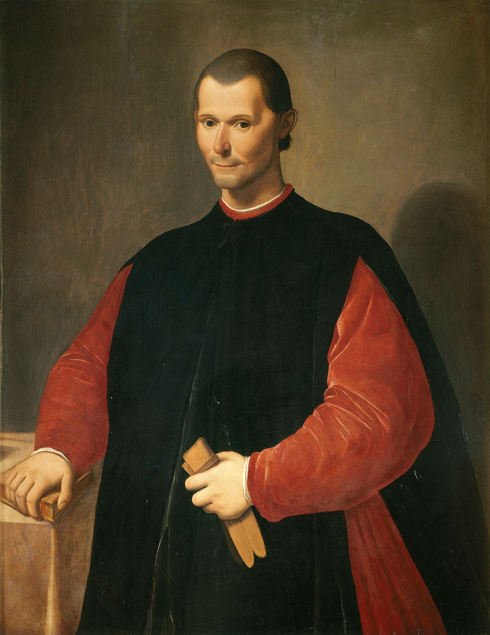 Santi di Tito's portrait of Machiavelli was painted after the author's death and hangs in the ...