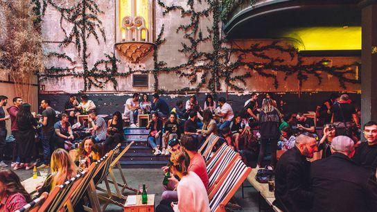 Cinema-goers pack out Sala Equis, a revamped neighbourhood cinema