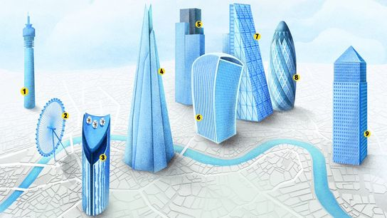 Guide to London's Skyline.