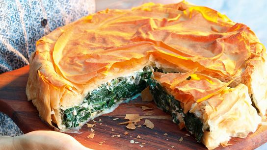 Spanakopita is often eaten as a light meal or snack, but can also be part of ...