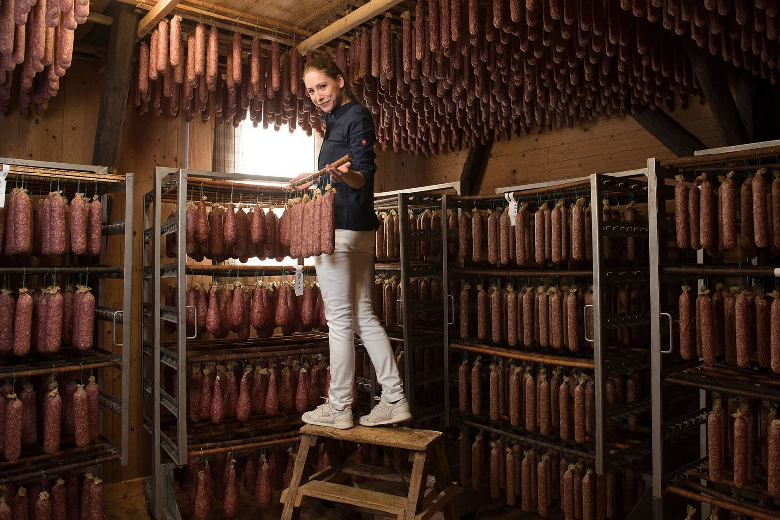 Meet the maker: Katharina Koch, the German butcher championing air-dried sausages