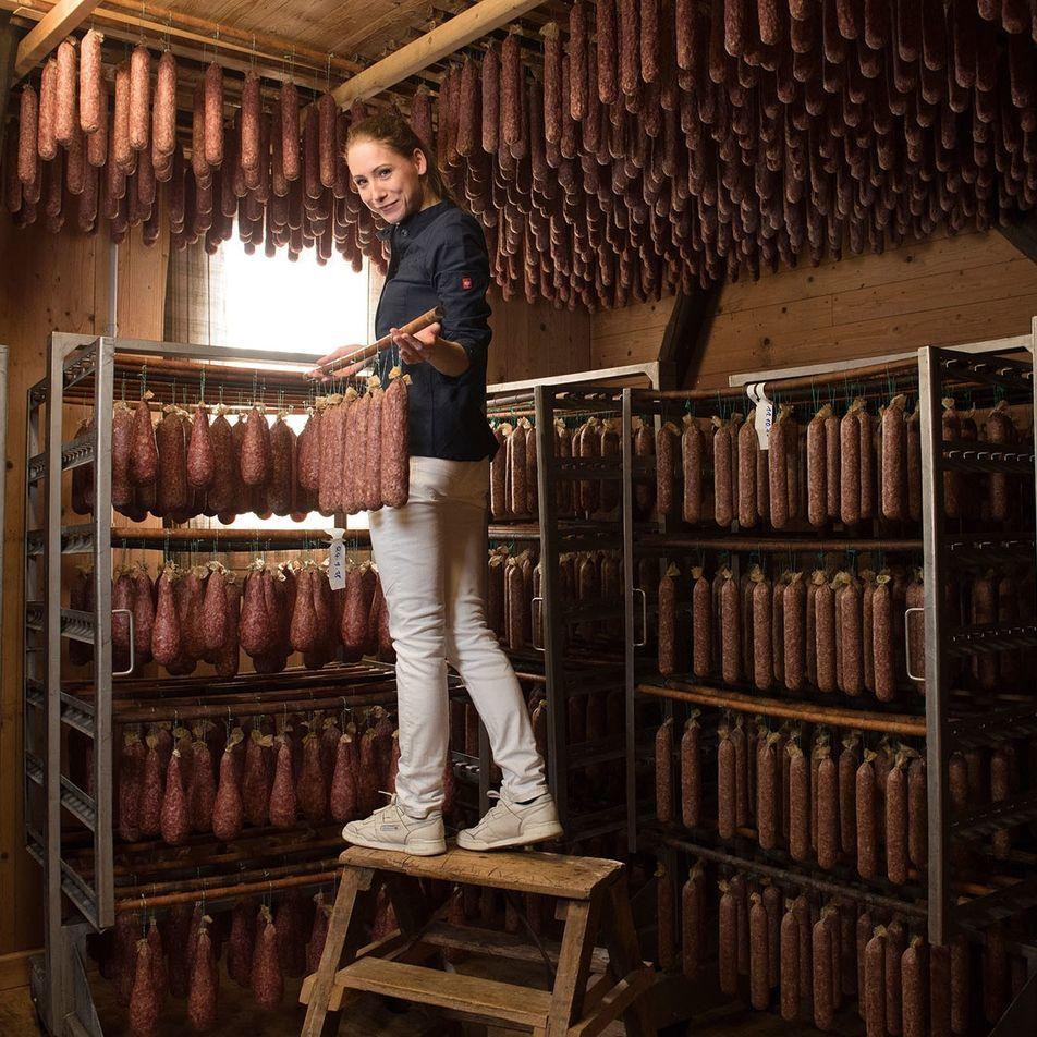 Meet the maker: Katharina Kock, the German butcher championing air-dried sausages