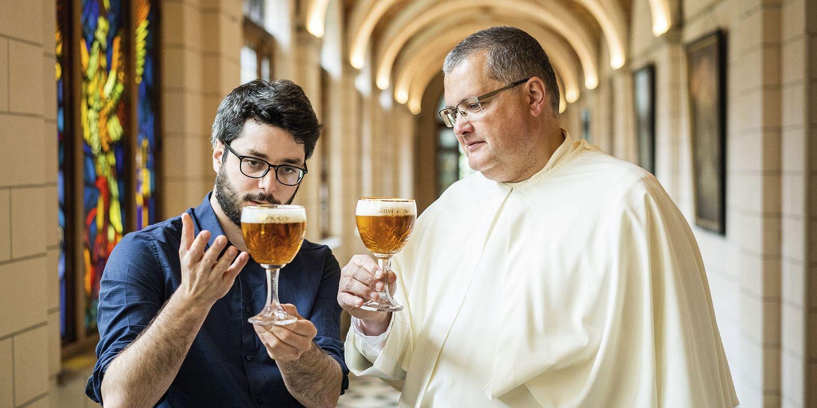 Meet the maker: the Belgian beer-brewing monk
