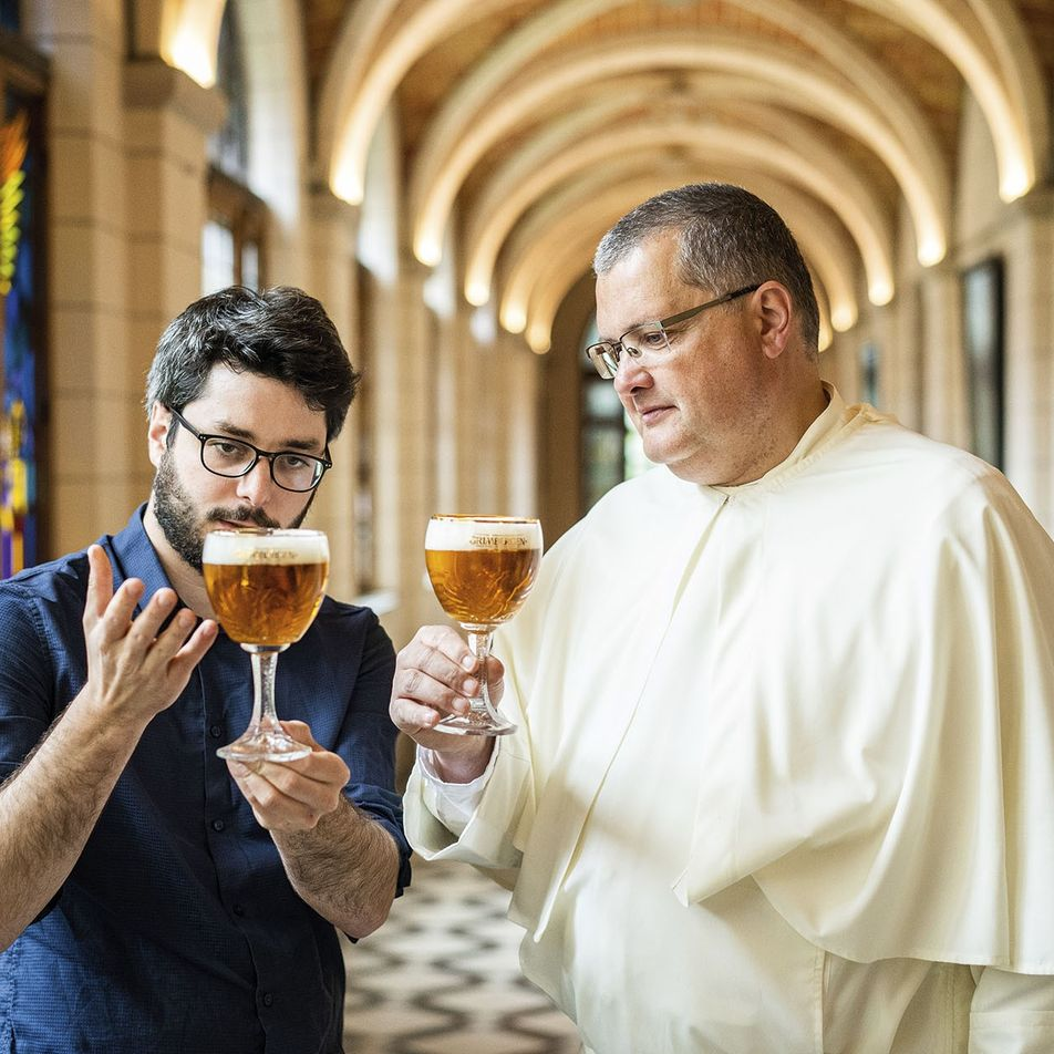 Meet the maker: the Belgian beer-brewing monk