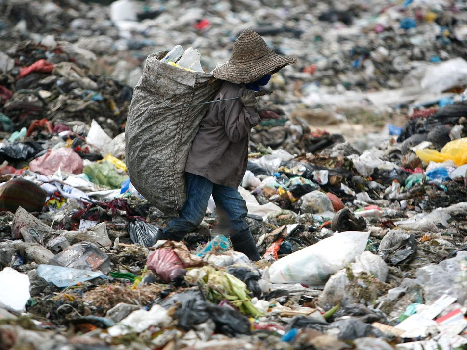 Where does your plastic waste end up?
