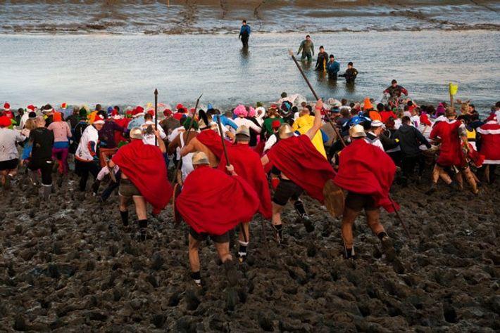 Maldon Mud Race, Essex, United Kingdom
