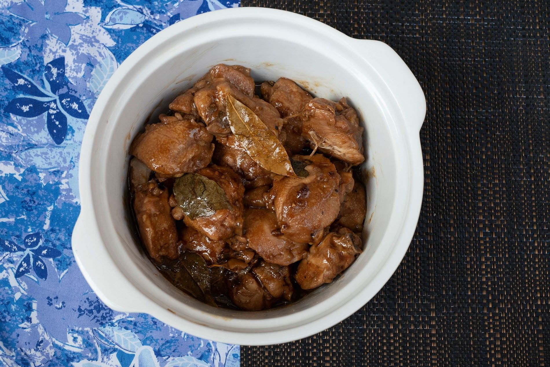 Alona Magale's chicken adobo.