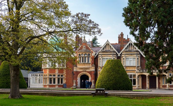 Bletchley Mansion, where senior officers and a number of teams worked. Prior to the war, the ...