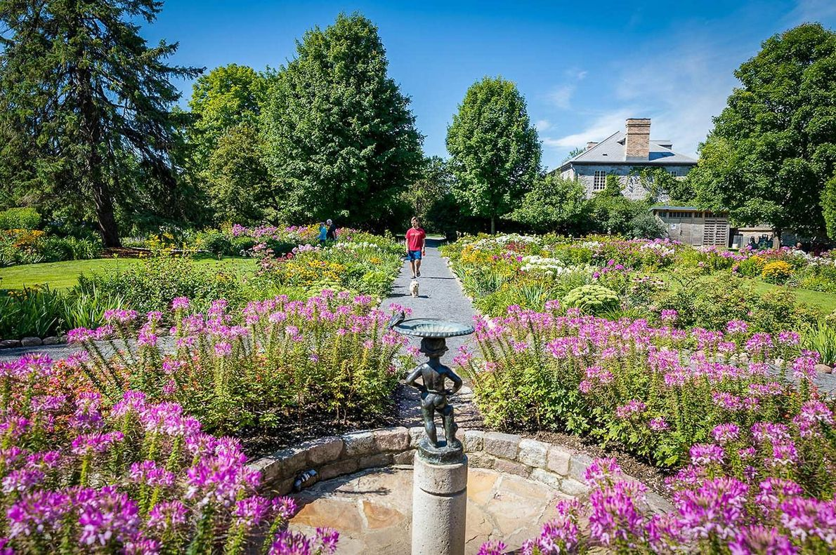 Stroll through the beautiful gardens at Maplelawn, one of the few remaining examples of 19th-century walled ...