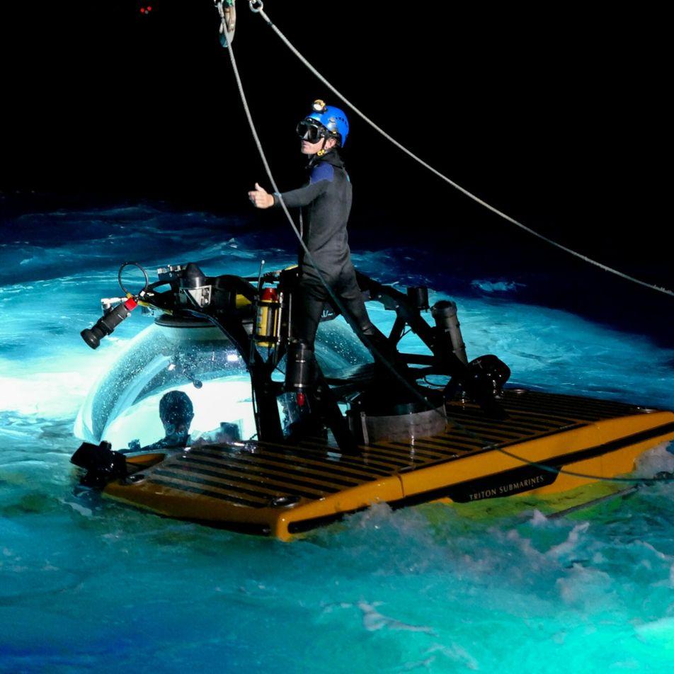 Deep-sea shark bonanza seen off remote island chain