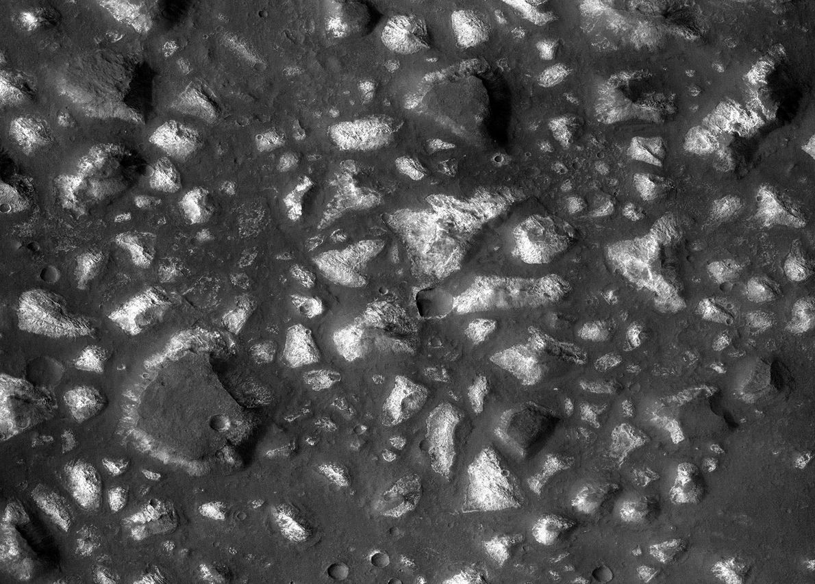 In October 2017, scientists unveiled evidence that 3.7 billion years ago, Mars's Eridania basin was a ...