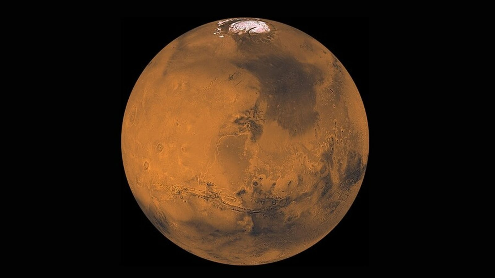 Families will have plenty of opportunities to view the red planet—shown here in an image put ...