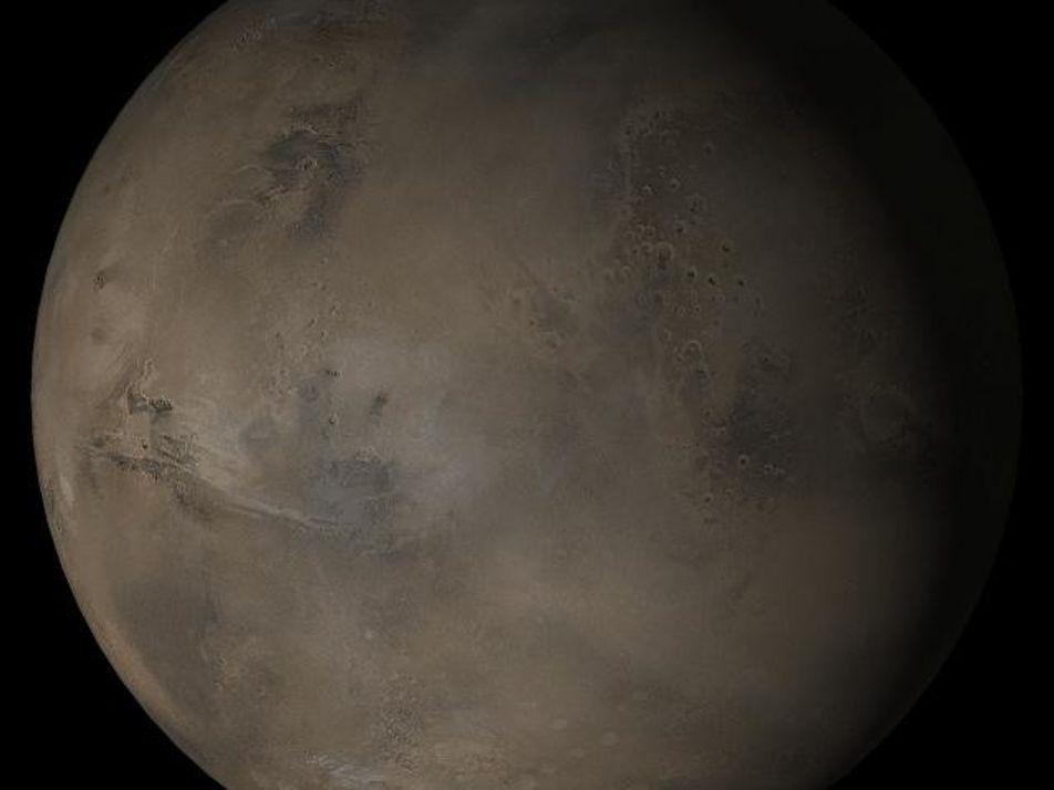 Mars may be hiding tantalising lakes beneath its glaciers