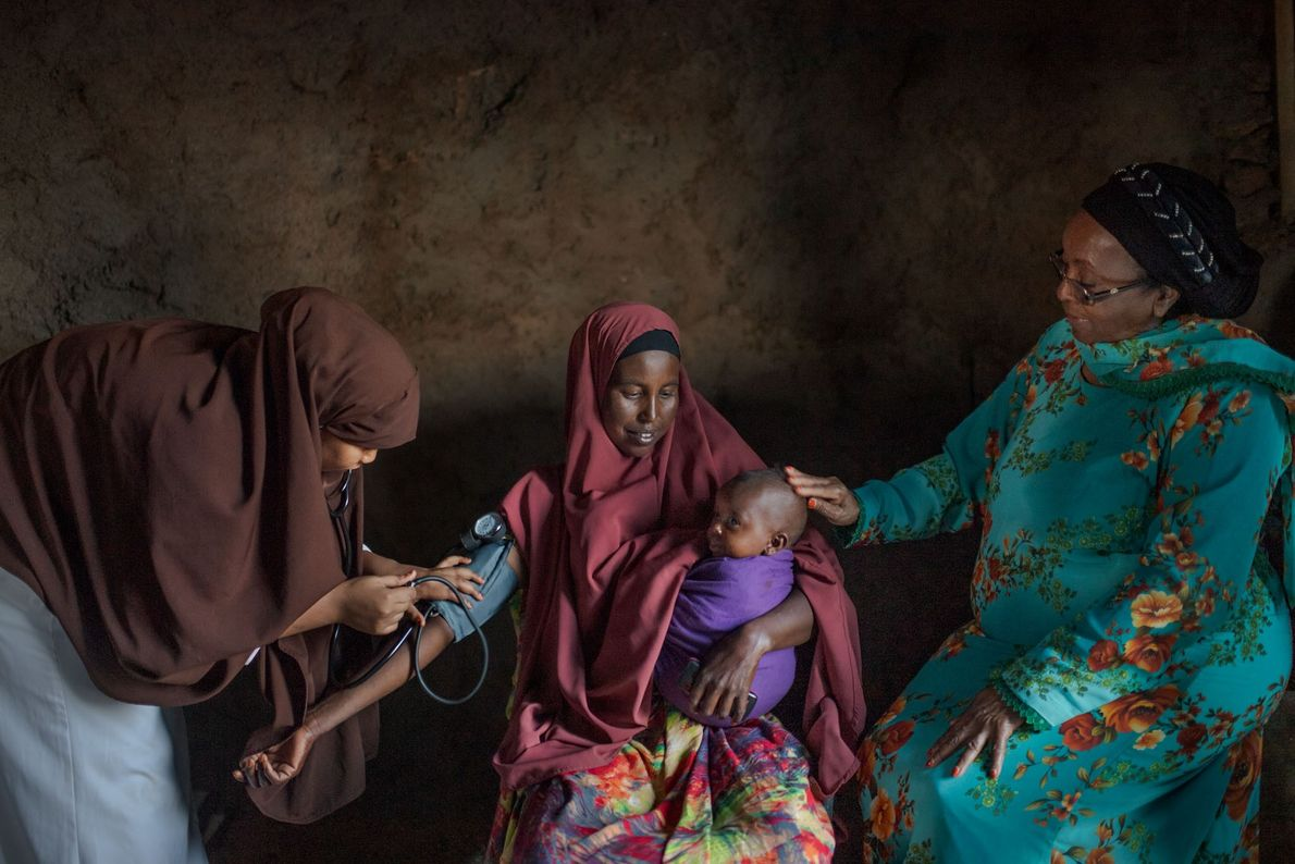Feeling dizzy and weak six months after giving birth, Zamzam Yousuf, 35, came into a clinic ...