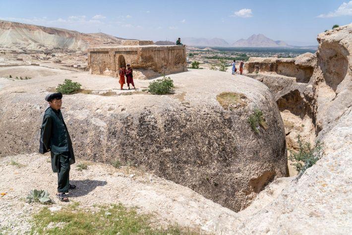 Stupa of Takht-e Rostam