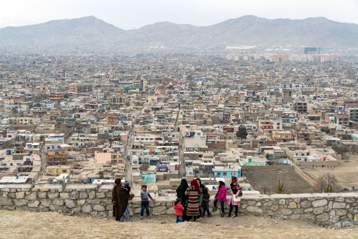 View of Kabul