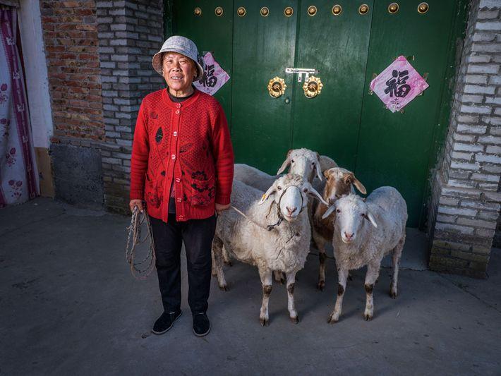 Wang Ga Zhou Mei, farmer.