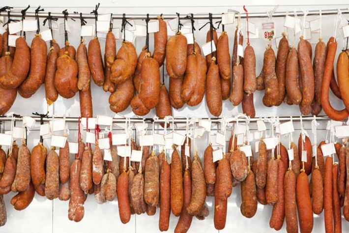 Pork sausages. Image: Getty