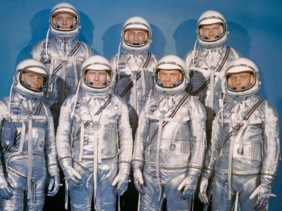 Into the 'new ocean': images from America's first space program
