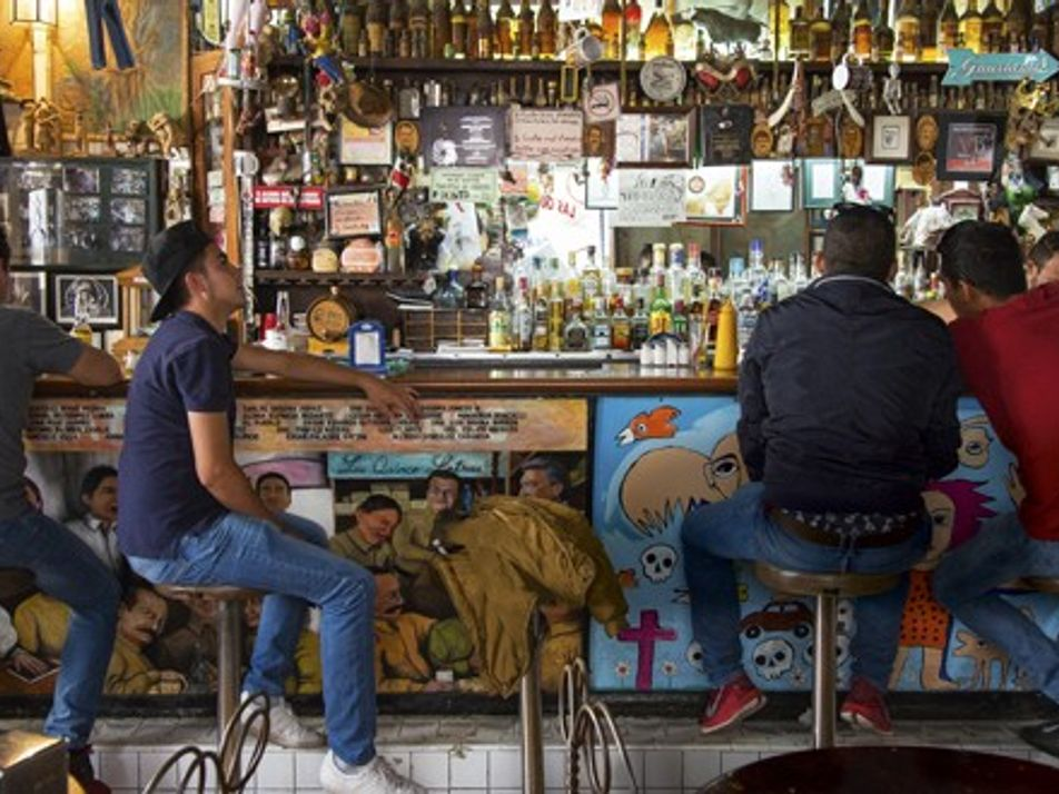 Stirring up michelada in Mexico