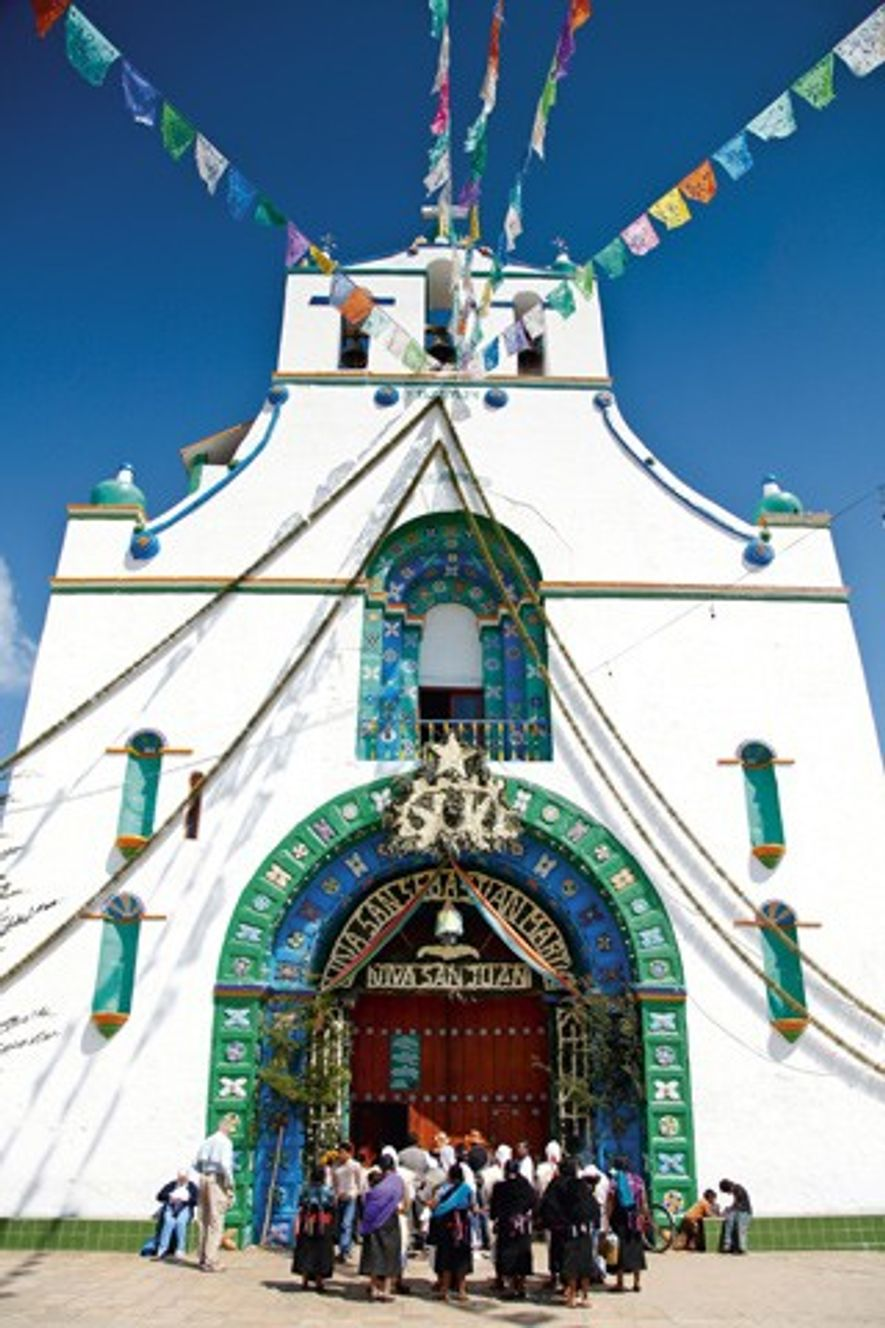 Cathedral San Juan Bautista. Image: Alamy